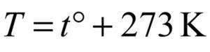 Температура газа в сосуде равна 2 °C. Какова абсолютная температура газа