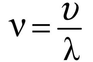 Какова частота звуковых волн, если в среде длина волны составляет 3 м, а скорость распространения 1800 м/с