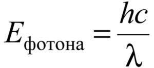 Число фотонов, излучаемых лазерной указкой мощностью P=2мВт за 1с, равно 4·10^15. Определите длину волны λ излучения лазерной указки