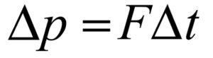 импульс силы формула