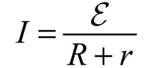 закон ома для полной цепи формула
