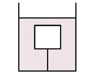 Деревянный куб массой 0,5 кг привязан ниткой ко дну сосуда с керосином. На куб действует сила натяжения нити, равная 7 Н. Определите силу Архимеда, действующую на куб