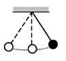 Математический маятник с периодом колебаний Т отклонили на небольшой угол от положения равновесия и отпустили с начальной скоростью, равной нулю. Через какое время после этого потенциальная энергия маятника в первый раз вновь достигнет максимума